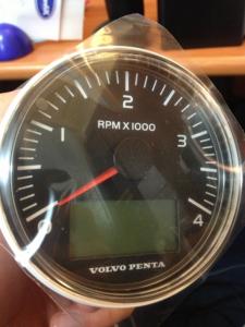 Compte tour Volvo Penta